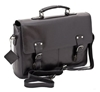 Black Leather Briefcase Business Satchel Bag From Prime Hide 3a Amazon co uk 3a Shoes 26 Accessories