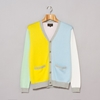 Beams Plus 12 Gauge Cardigan Mint Yellow Sax White Pink Oi Polloi