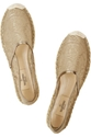 Valentino c2 a0 7c c2 a0Metallic lace espadrilles c2 a0 7c c2 a0NET A PORTER COM