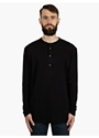 14 Men's Black Replica Cotton Undershirt