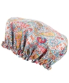 Turquoise Bourton Liberty Print Shower Cap 2c Liberty London Shop more from the Liberty London collection at Liberty co uk