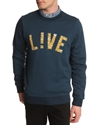 Live Navy Sweat LACOSTE LIVE er Menlook Worldwide Shipping