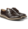 Common Projects Crepe Sole Leather Derby Shoes Mr Porter