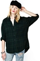After Party Vintage Tried And True Flannel Forest Green Shop Tops At Nasty Gal