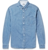 Acne Studios Isherwood Denim Shirt Mr Porter