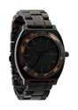 Nixon Time Teller Acetate Watch Matte Black Dark Tortoise Brand New in The Box 7c eBay