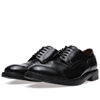Acne Askin Cap Toe Derby Shoe Black
