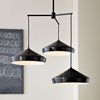 Finn Chandelier Black 7c west elm