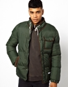 Bellfield Bellfield Padded Jacket At Asos