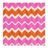Pink and Orange Chevron Shower Curtain 3e Bed and Bath 3e After My Art by Catherine Holcombe
