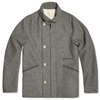 Folk Luc Coat Light Grey
