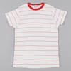 Levis Vintage 50S Sportwear T Shirt Red White Stripe