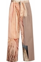 Ten Printed Canvas Wide Leg Pants Acne Studios The Outnet