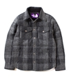 Nanamica Harris Tweed Down Shirt