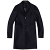 Acne Garrett Wool City Coat Dark Navy