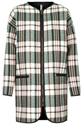 Textured Check Throw On Coat Jackets Coats Clothing Topshop