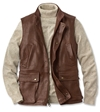 Leather Vests Lambskin Munitions Leather Vest Orvis