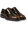 Burberry Prorsum Burnished Patent Leather Brogues Mr Porter