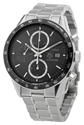 Tag Heuer Men's Cv2010ba0794 Carrera Black Dial Watch Watches Amazon.Com