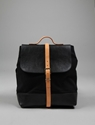 Steve Mono Paul Canvas and Leather Backpack