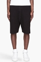 Silent By Damir Doma Black Distressed Shorts for men 7c SSENSE