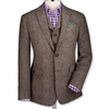 Taupe tweed tailored fit jacket 7c Men 27s blazers 26 jackets from Charles Tyrwhitt 2c Jermyn Street 2c London