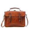 Sandra Leather Backpack Cognac 