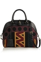 Burberry Prorsum Leather And Wool Blend Tote Net A Porter.Com