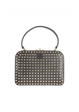 Valentino Handbag 3a 3a Valentino black leather with gold tone studs handbag 7c Montaigne Market