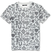 Sibling Printed Cotton Jersey Oversized T Shirt Mr Porter