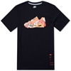 Nike Air Collage Tee Black Team Orange