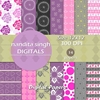 Pink Magic 2 Instant Download Digital By ... Surface Pattern Desig