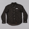 Unrivaled Tradition B D Shirt Leopard Print Grey