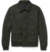 Product Alfred Dunhill Charlton Wool Blend Bomber Jacket 435231 Mr Porter