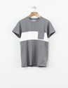 Universal Works Single Jersey Panel Tee Grey Nitty Gritty Store