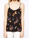 Oasis Oasis Butterfly Cami Top At Asos