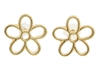 Marc By Marc Jacobs Cut Out Daisy Studs Oro Zappos Couture