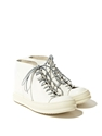 Rick Owens Women's Leather Vicious Dunk Ln Cc