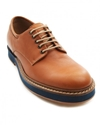 Michael Light brown Leather Derbies BSTORE Menlook Worldwide Shipping