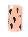 Cactus Watercolor Iphone 5 5S Case Peach By Confettiriotshop