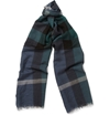 Burberry Shoes Accessories Check Fine Wool And Silk Blend Scarf Mr Porter