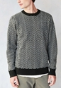 Brixton Gully Sweater Urban Outfitters