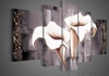 Amazon.Com Santin Art 100 Hand Painted Free Shipping Wood Framed Brown Lily Fashion Flower Home Decoration Abstract Landscape Oil Painting On Canvas 5Pcs Set Mixorde Hand Painted Wall Art
