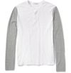 Product James Perse Slub Cotton Jersey Henley T Shirt 401381 Mr Porter