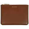 Comme Des Garcons Sa5100lg Luxury Wallet Brown
