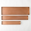 Habit Form Rectangle Tray Copper