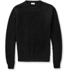 Saint Laurent Mohair Blend Crew Neck Sweater Mr Porter