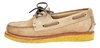 Boat Shoe With Honey Crepe Sole
