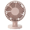 Usb Desk Fan Low Noise Pink Others Electronics