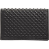 Alexander McQueen Covered Stud Card Case at Barneys com